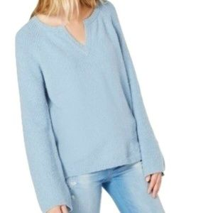 I.N.C. Textured Bell-Sleeve Sweater
